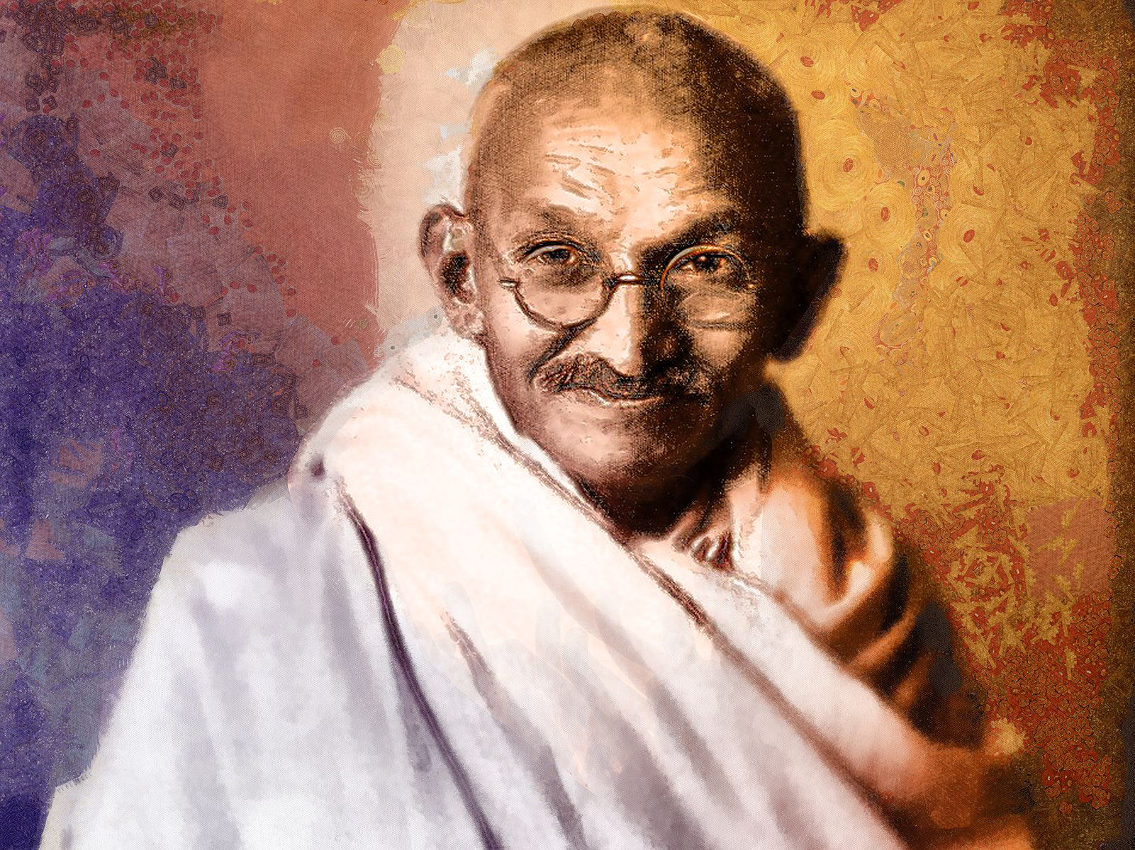 Was Gandhiji suffering from social phobia?